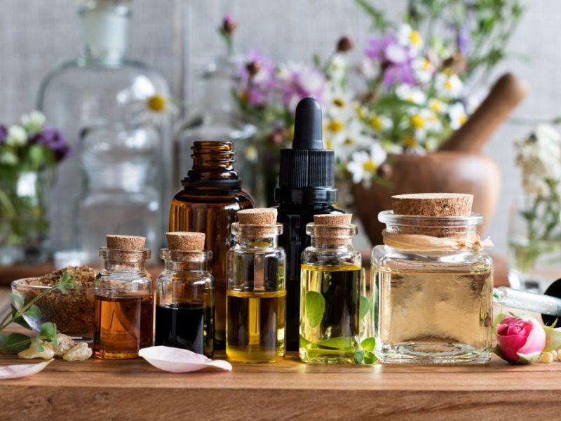 Vegetable oils for natural skincare