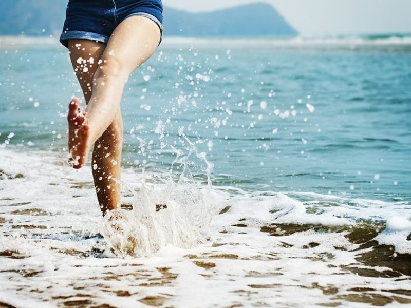 Summer skin treatment